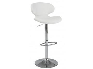 Barová židle C-140 bílá