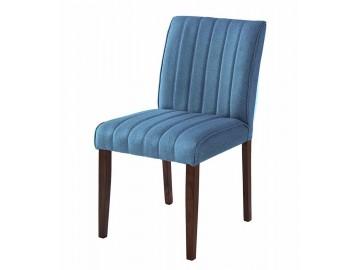 Jídelní čalouněná židle RAINBOW modrá