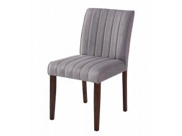 Jídelní čalouněná židle RAINBOW šedá