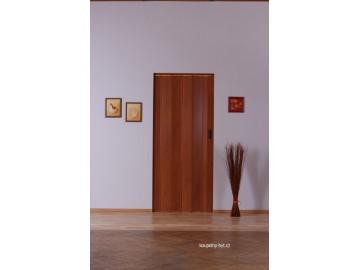 Shrnovací dveře KIT LUCIANA, plné - bez prosklení, č.10 - mahagon sv.