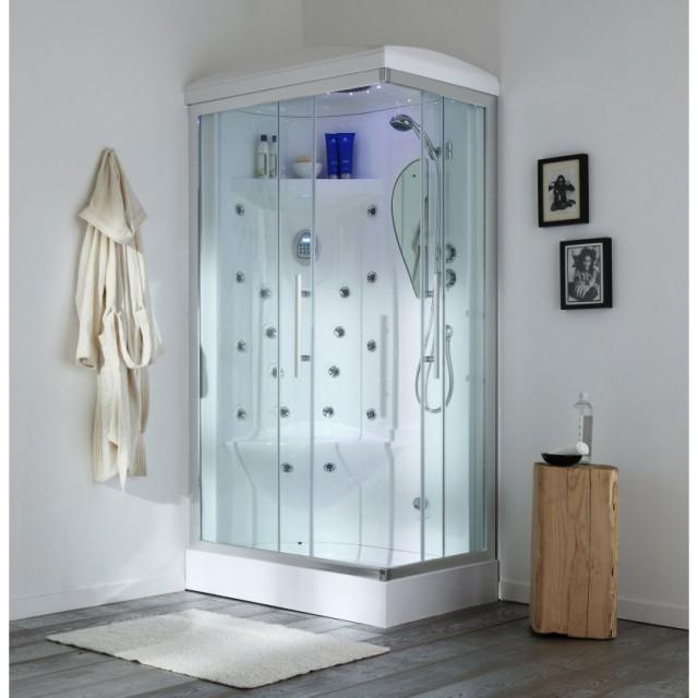 Sprchová hydromasážní kabina IRIDE 70x90 cm LEVÁ