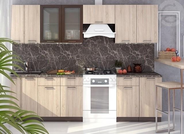 Nová kuchyně BRAUNI 280 wenge/sonoma