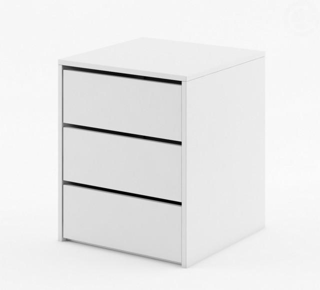 Jednoduchý kontejner do skříně IDEA ID-13 bílý