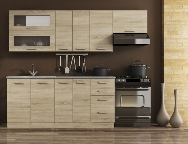 Bezkonkurenční cena a moderní design - tyto dva důležité prvky kombinuje kuchyně BALLA, která je v našem sortimentu novinkou!