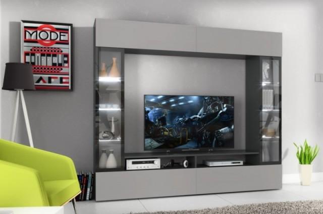 Designově jednoduchá, přesto zajímavá a nevšední - NOVÁ RTV stěna ETO Vás zaujme na první pohled!