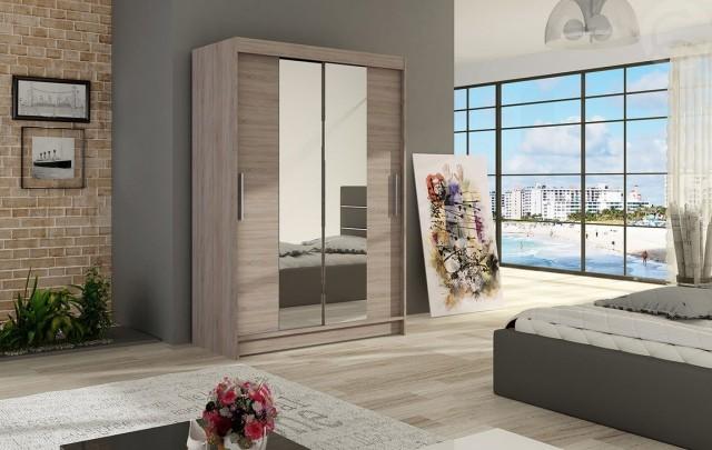 Moderní šatní skříň MIAMI II