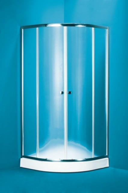 Olsen Spa NAVARRA sprchový kout 90x90 cm matné sklo akrylátová vanička