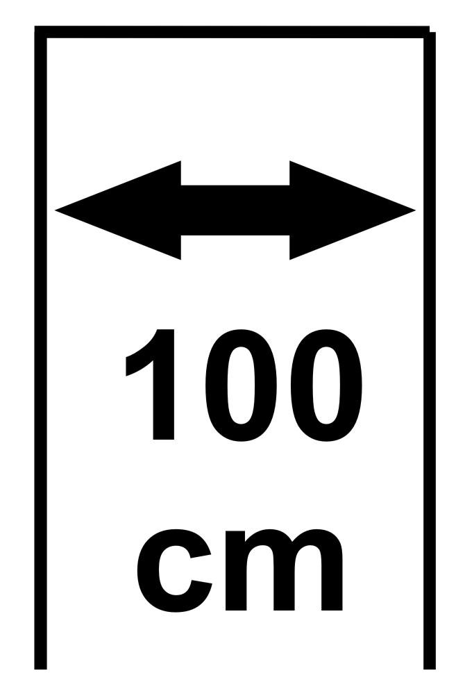Šířka 100 cm