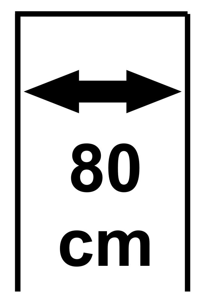 Šířka 80 cm