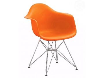 Jídelní židle - křeslo REGIA oranžová