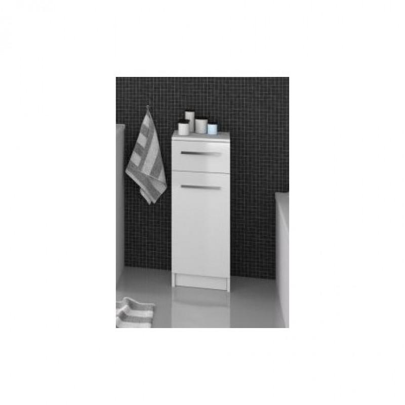 Olsen Spa Koupelnová skříňka Focus F-30-SM malá - 30 × 30 × 80,9 cm, Ořech Dijon OLNFFO30418DSPL